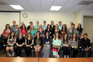 EWC Phi Theta Kappa inducted 29 new members