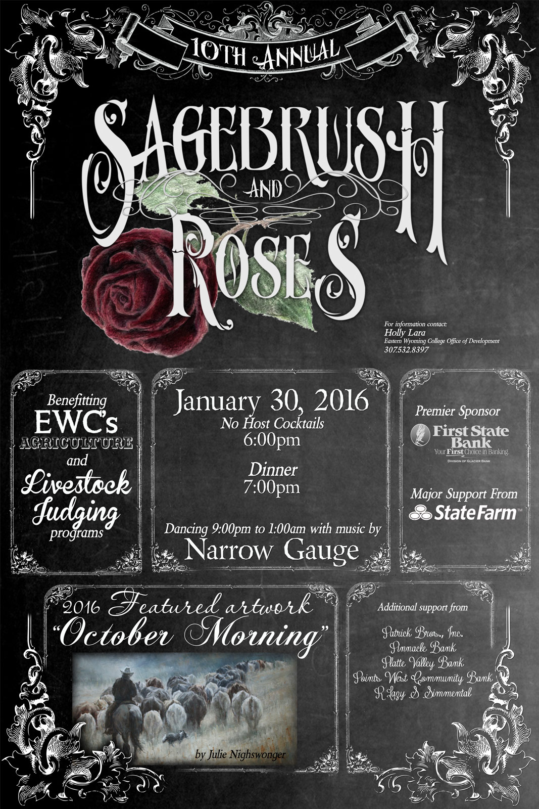 Sagebrush and Roses 2016