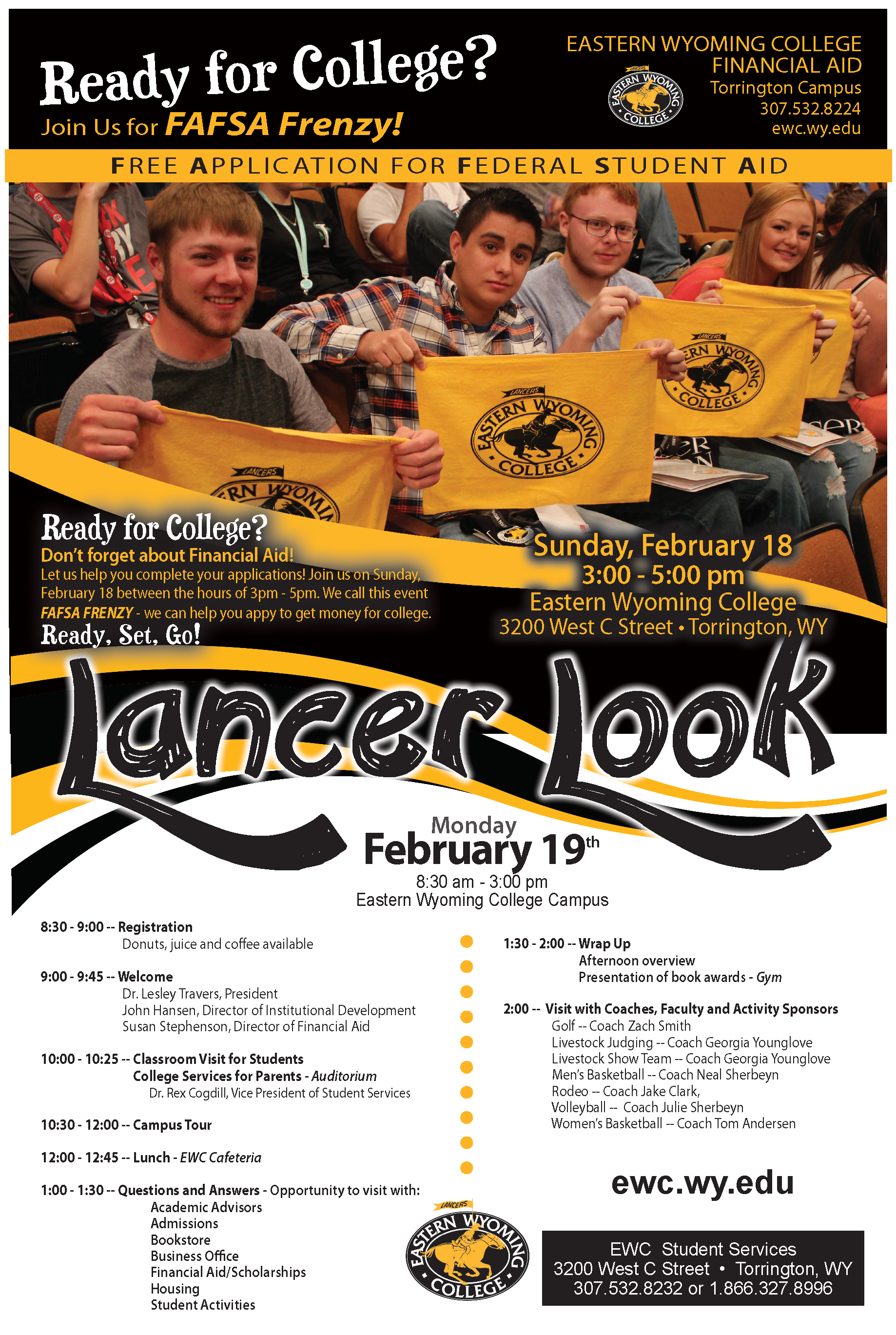 Eastern Wyoming College - Lancer Look 2018
